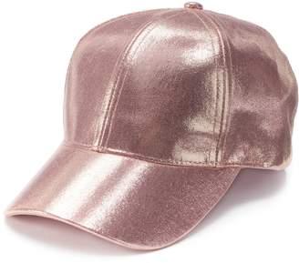 Mudd Women's Metallic Baseball Cap