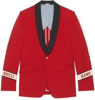 9376f7616 Gucci Wool twill jacket with Band