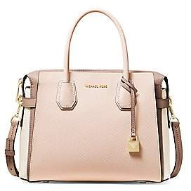 MICHAEL Michael Kors Women's Medium Mercer Leather Satchel