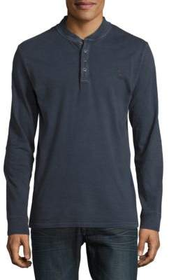 Timberland Long-Sleeve Henley Top
