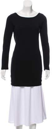Nightcap Clothing Long Sleeve Open Back Tunic