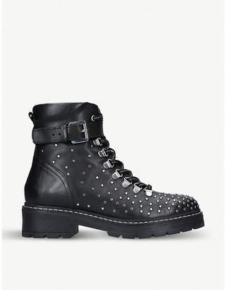 Carvela Shiver studded leather boots