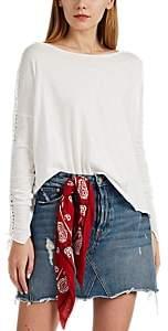 NSF Women's Micha Slub Cotton T-Shirt - White