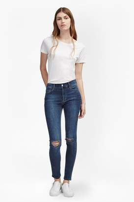 French Connection New Rebound Ripped Knee Skinny Jeans