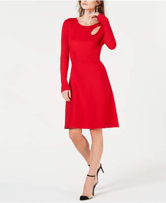 INC International Concepts I.n.c. Cutout Sweater Dress