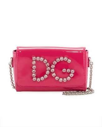 Dolce & Gabbana Girls' Rhinestone Shoulder Bag
