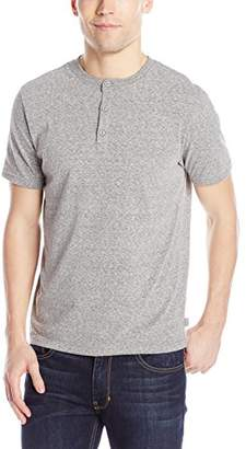 Threads 4 Thought Men's Sustainable Triblend Short Sleeve Henley