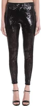 Laneus Black Sequins Trousers