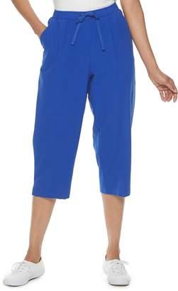 Le Bos Women's Napa Valley Pull-On Drawstring Capri Pants