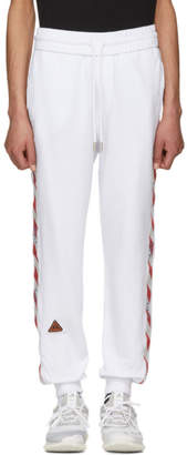 Off-White White Logo Side Tape Lounge Pants