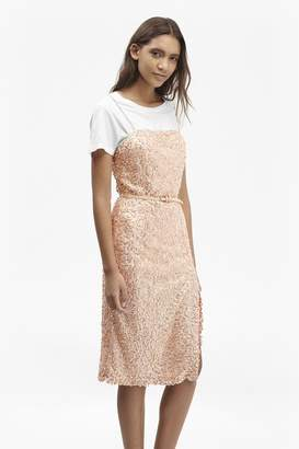 French Connection Celia Sequinned Strappy Dress