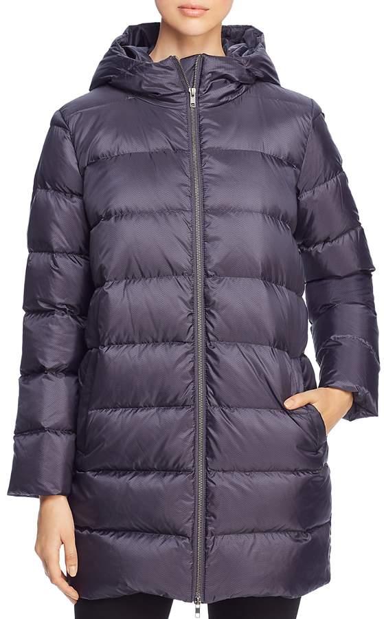 Hooded Down Puffer Coat
