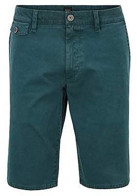 HUGO BOSS Regular-fit shorts in cotton Bedford corduroy