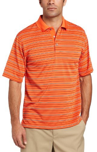PGA Tour Men's Tour Striped Polo Shirt