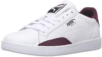 Puma Women's Match LO Basic Sports WN's Tennis Shoe White/Winetasting