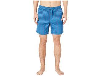 Mr.Swim Mr. Swim Cabana Stripe Printed Swim Trunks