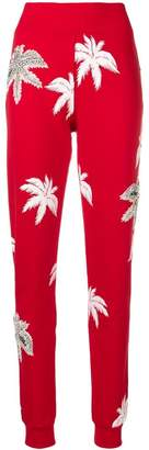 Philipp Plein printed slim trousers
