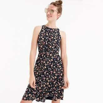 J.Crew Mercantile ruched-waist dress in vintage floral