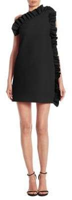 MSGM Side Ruffle Dress