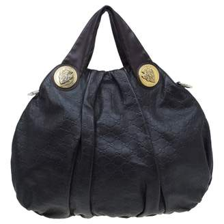 Gucci Hysteria Burgundy Leather Handbags