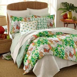 Nine Palms Butterfly Garden Duvet Set, King