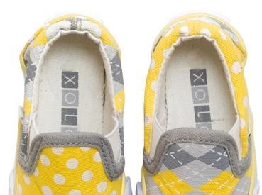 Toddler Girl's Xolo Sunshine Slip On - Multicolor