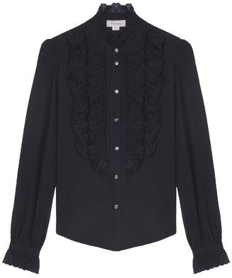 Temperley London Etta Star Embroidered Shirt