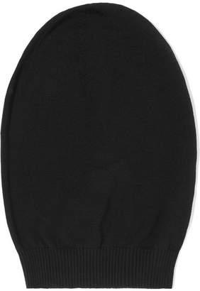 Rick Owens Wool Beanie - Black