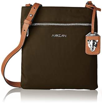 Marc Cain Jb Ti.01 W14, Women's Shoulder Bag, Grün (Deep Forest), 2x26x24 cm (B x H T)
