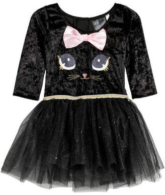H&M Dance dress with a tulle skirt - Black