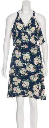 Privacy Please Floral Knee-Length Dress