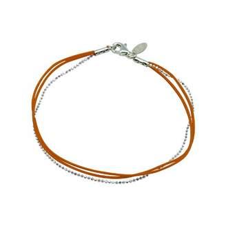 Very Sisters BR52SO Sandwich Women's Bracelet Silver 925/1000 15 g-Orange, 18 cm