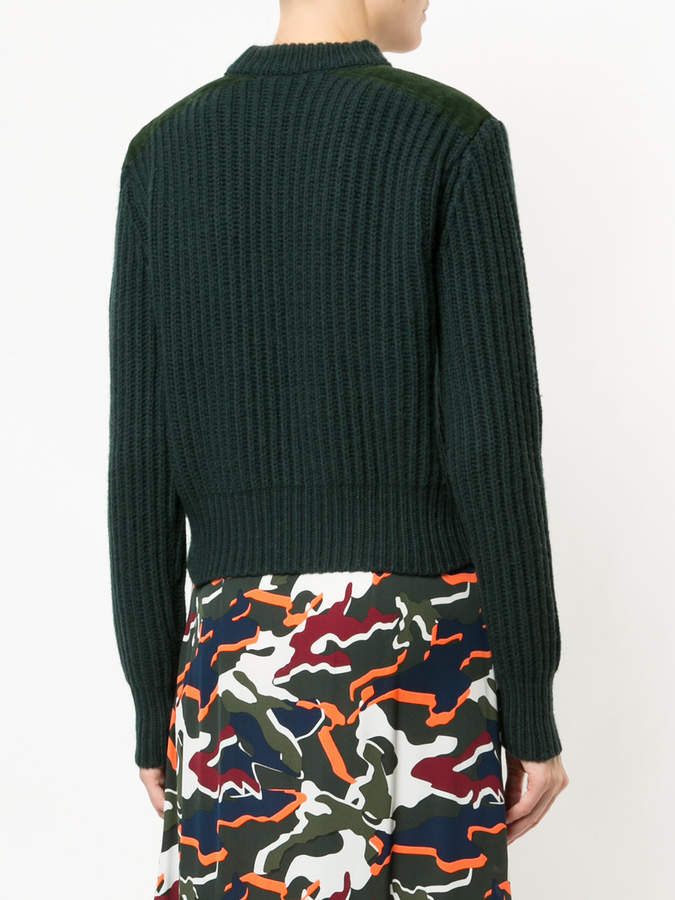 Dion Lee patchwork pocket jumper