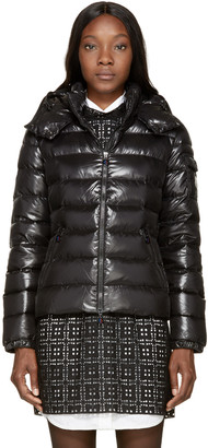 Moncler Black Down Bady Jacket $995 thestylecure.com