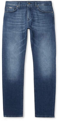 HUGO BOSS Stretch-Denim Jeans - Men - Blue