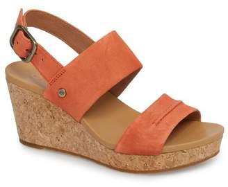 UGG Elena II Platform Wedge Sandal (Women)