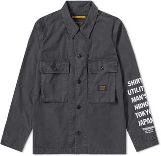 Neighborhood Military Utility Shirt Jacket