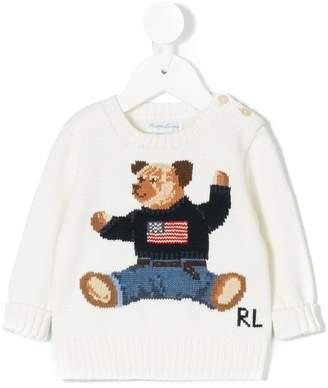 Ralph Lauren (ラルフ ローレン) - Ralph Lauren Kids ベア インターシャセーター