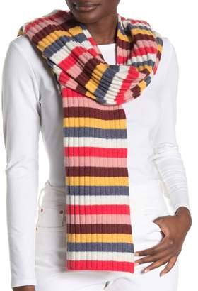 Madewell Multi Stripe Knit Scarf