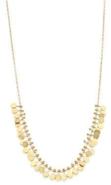 SIA Taylor Taylor Women's Dots 18K Yellow Gold Necklace - Gold