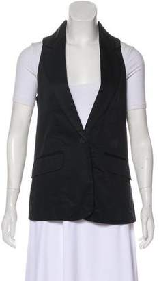 Jacob & co Sleeveless Blazer Vest
