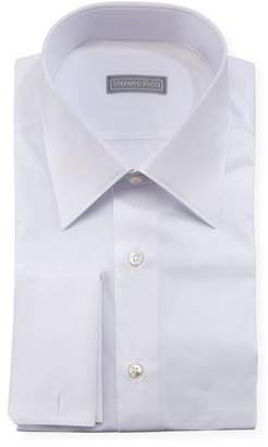 Stefano Ricci Pique French-Cuff Dress Shirt