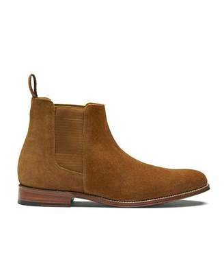 Grenson Shoes Declan Chelsea in Snuff Suede
