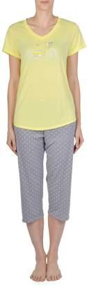 Claudel Polka Dot Bike Print Pyjama 2-Piece Set