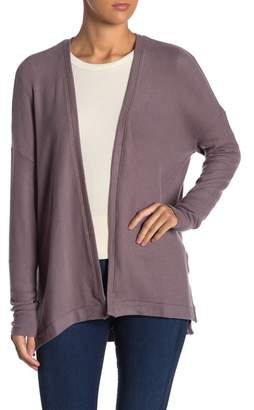 Three Dots Brushed Drop Shoulder Cardigan