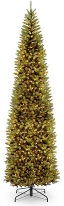 National Tree Company 12-ft. Pre-Lit Kingswood Fir Pencil Artificial Christmas Tree