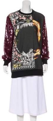 Givenchy Embellished Mermaid Sweatshirt