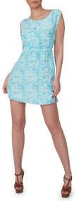 Aya Silk Zircon Silk Printed Dress