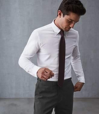 Reiss Halliday Textured Button Down Shirt