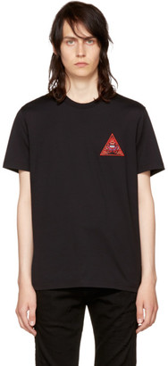 Givenchy Black 'Real Eyes' T-Shirt $490 thestylecure.com